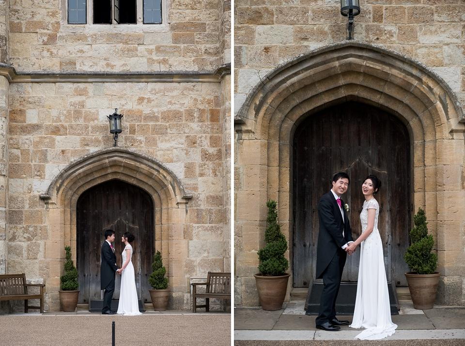 Elegant Leeds Castle wedding