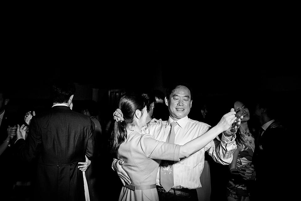 Dancing at Leeds Castle Wedding