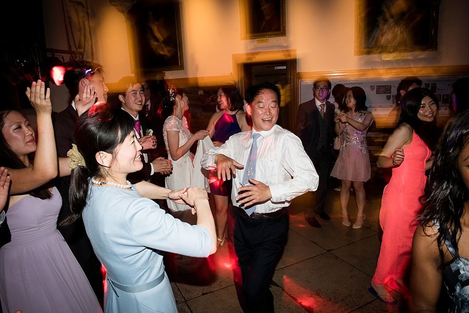 Leeds Castle wedding dancing