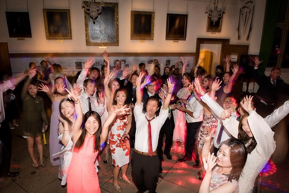 Fun Leeds Castle wedding dancefloor