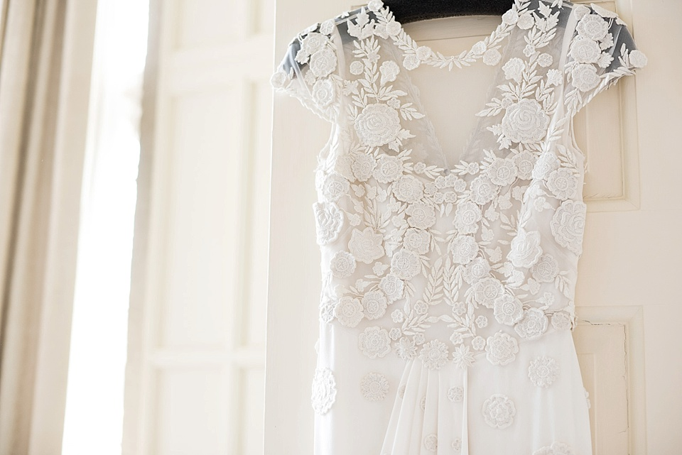 Temperley Bridal lace wedding gown
