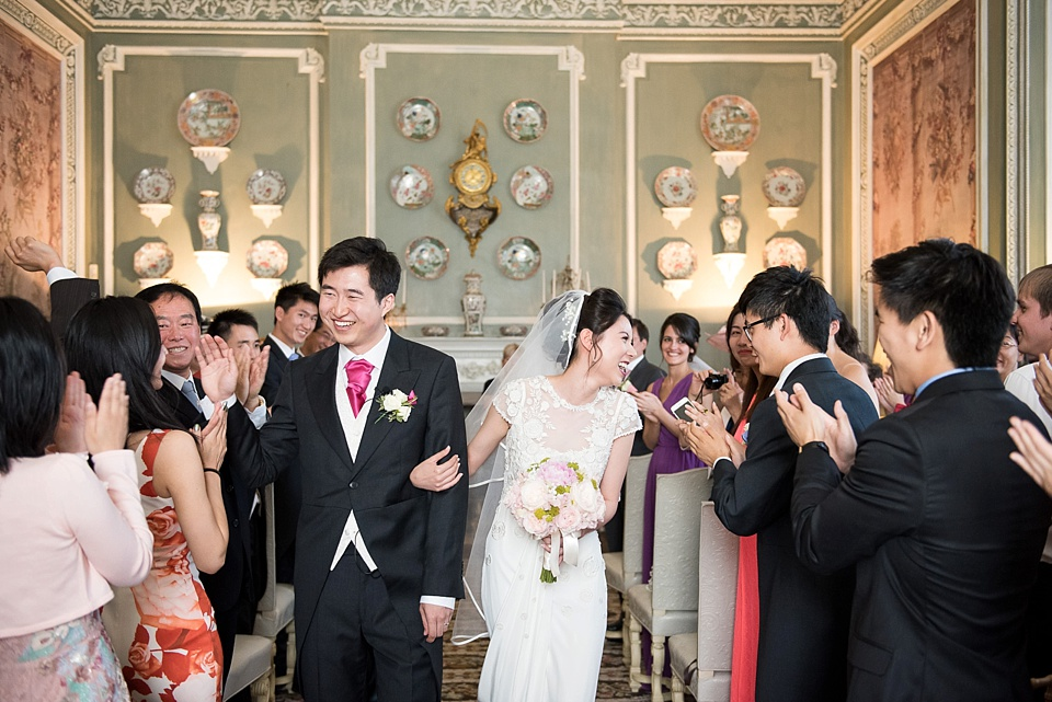 Fun, elegant Leeds Castle wedding