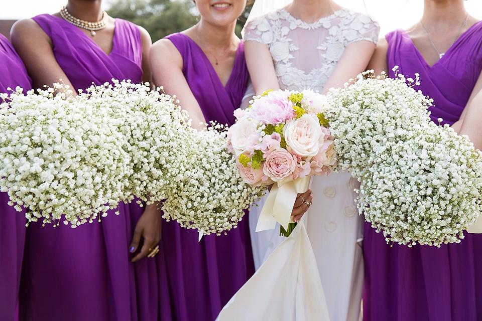 Leeds Castle Florist wedding bouquets