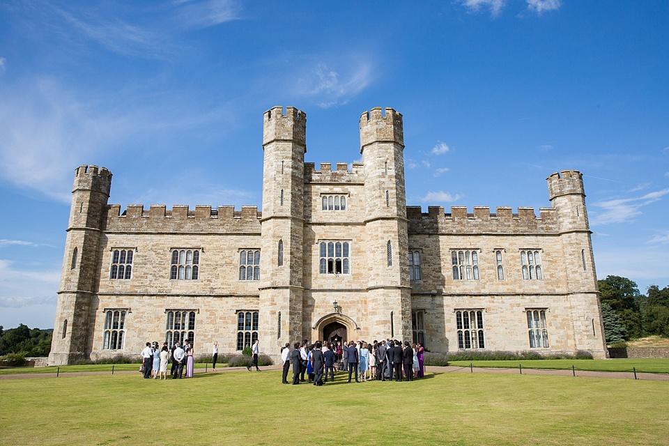 Elegant Leeds Castle summer wedding