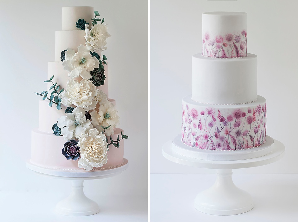 luxury wedding cake creative theme - arianna lauren