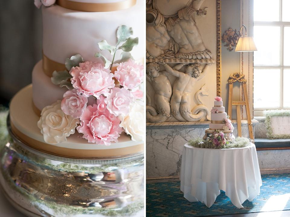 Queen of Herts luxury wedding cake Hertfordshire