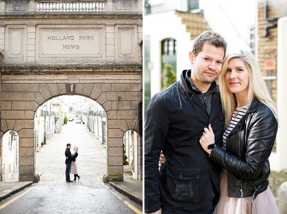 Holland Park engagement shoot