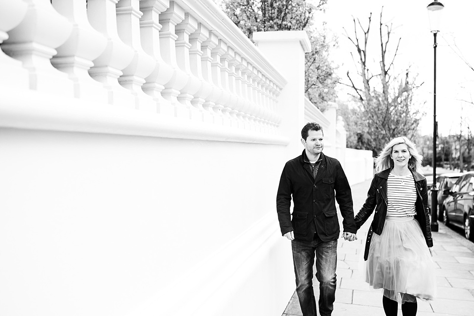 Holland Park engagement photography