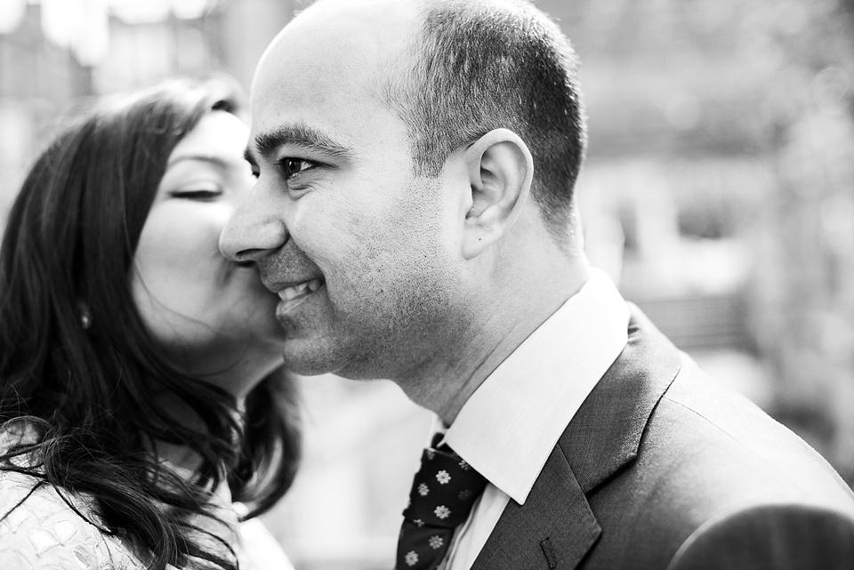 Elegant engagement photography