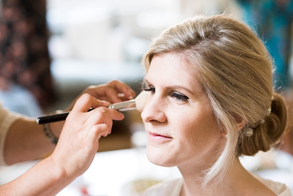 Bridal make over pre-wedding Fetcham Park