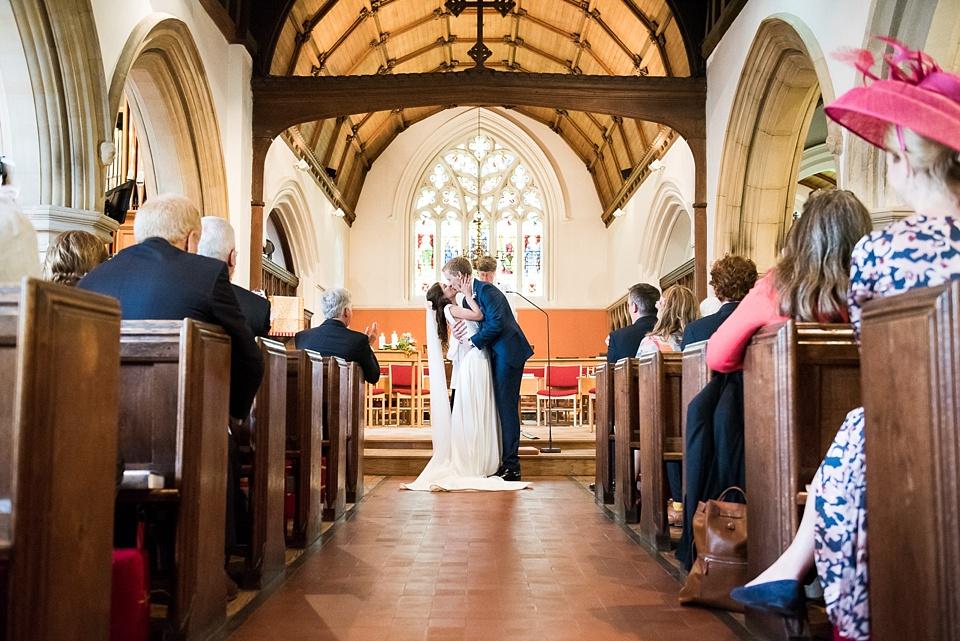 Church wedding photography Surrey