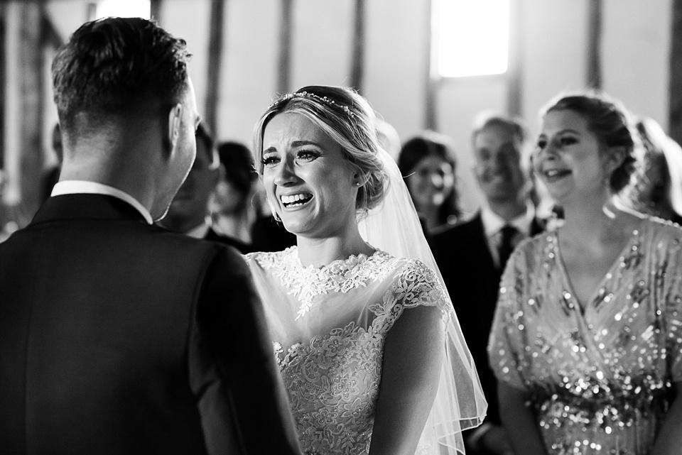 Emotional wedding photography Essex