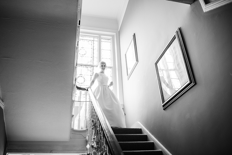 Capturing your wedding day story bride pre-wedding photography Fetcham Park