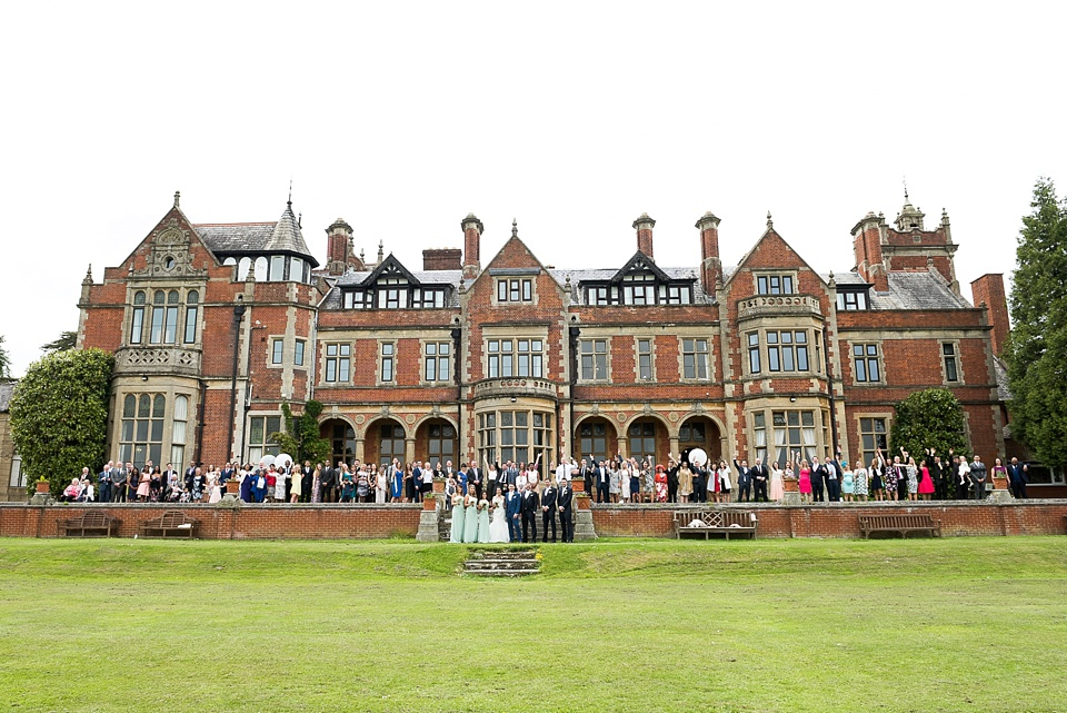 Frensham Heights School Surrey group wedding portrait