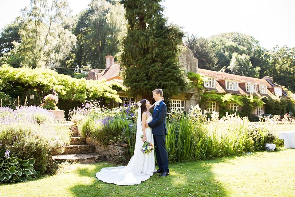 Busbridge Lakes wedding portrait Surrey