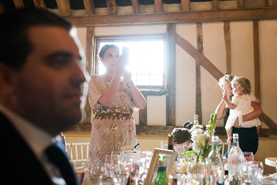 Unobtrusive wedding photography Pledgdon Barn Essex