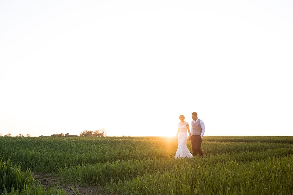 Beautiful wedding portrait Essex countryside
