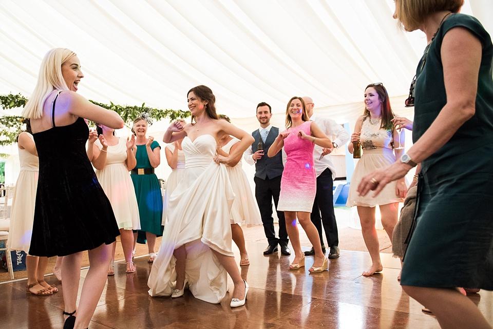 Fun wedding dance floor Surrey