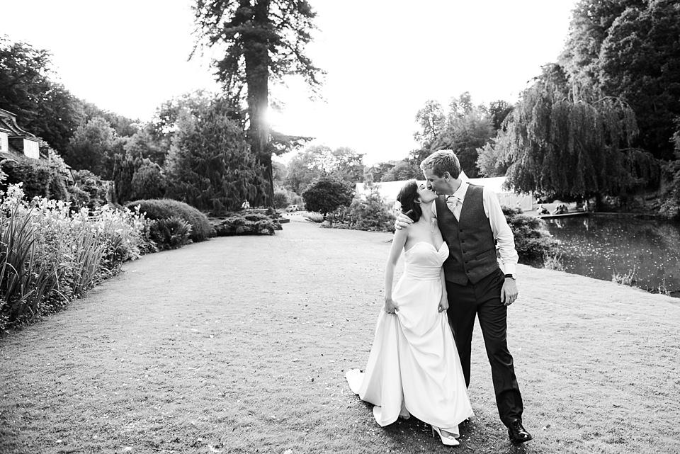 Busbridge Lake wedding portrait Surrey