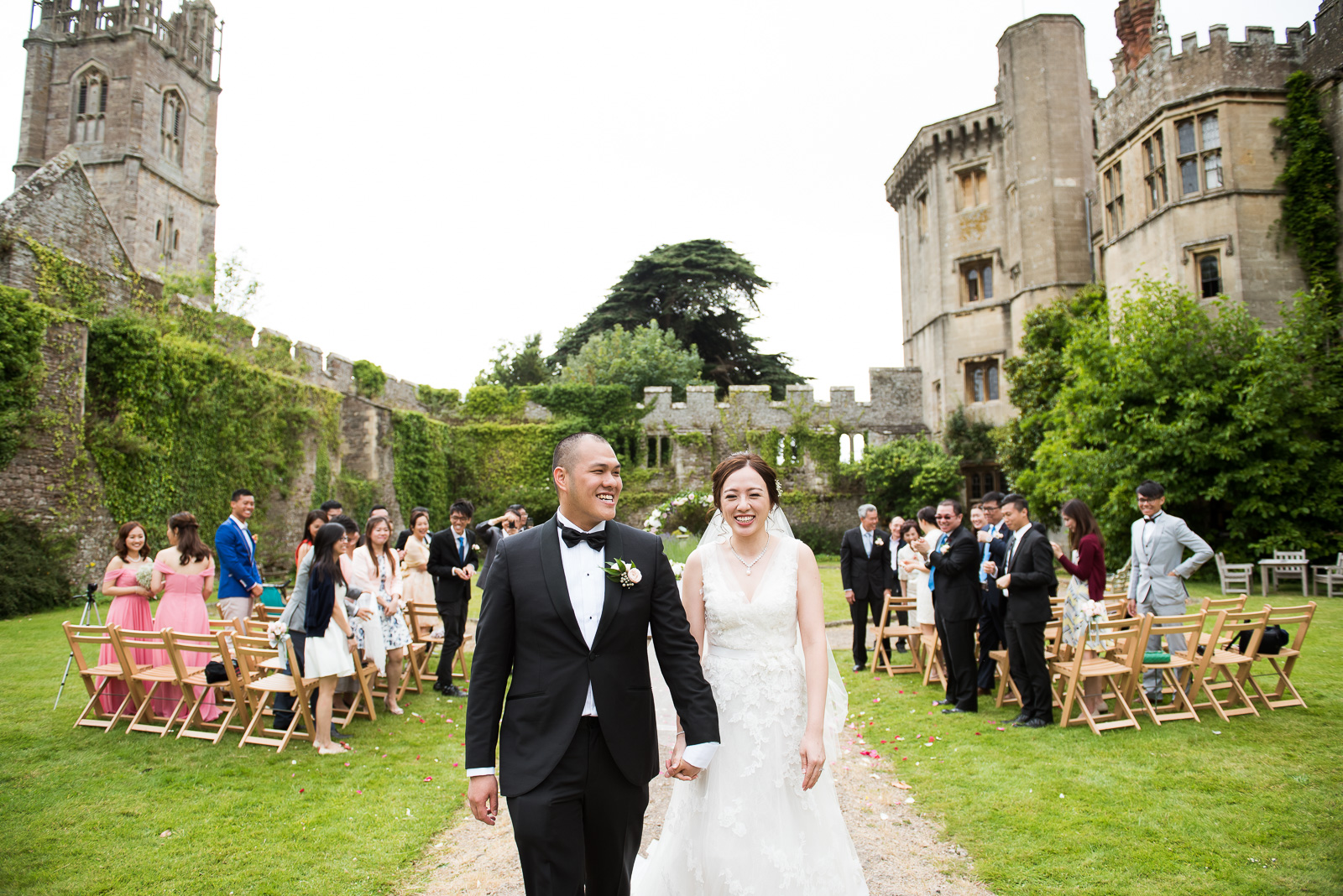 Thornbury Castle wedding portrait Gloucestershire