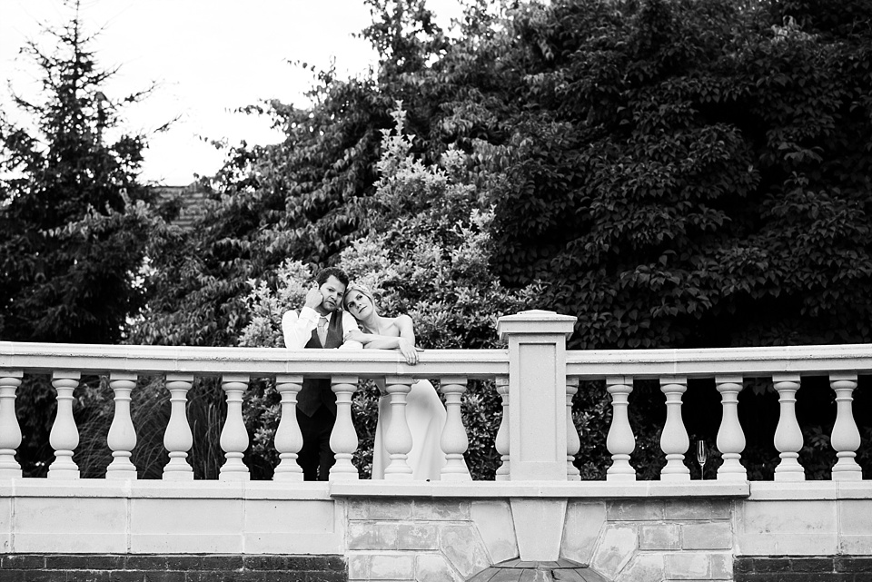 Fetcham Park wedding portrait Surrey