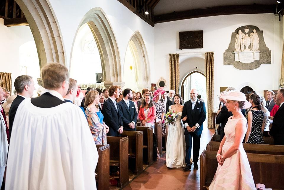 Surrey church wedding photography