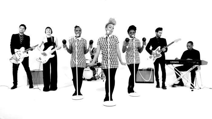 The Faithettes wedding band Freak Music