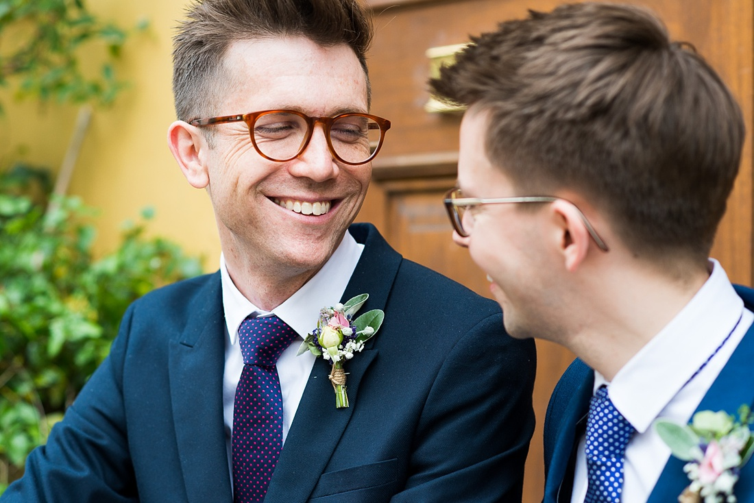 Very happy groom Associate Wedding Photographer