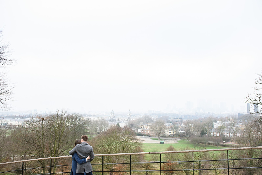 Greenwich engagement photography London