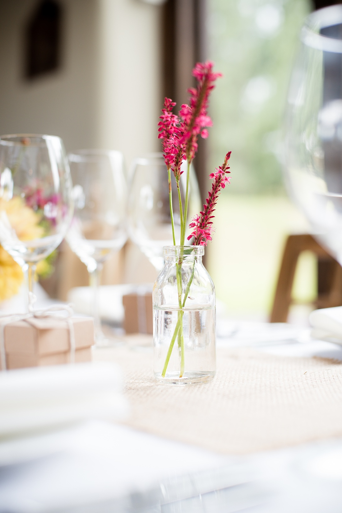 Wedding table floral decor Associate Wedding Photographer