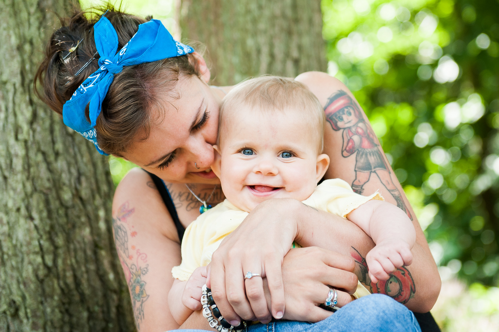 Emotive family photography