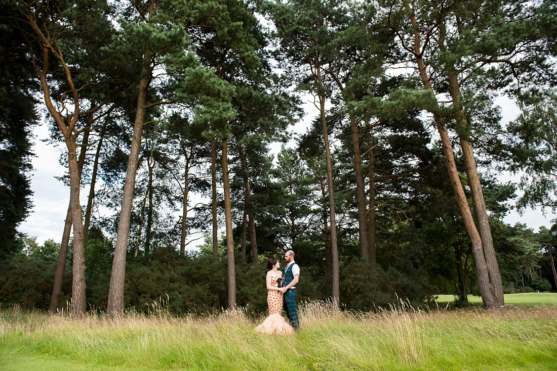 Nature wedding portrait Associate Wedding Photographer