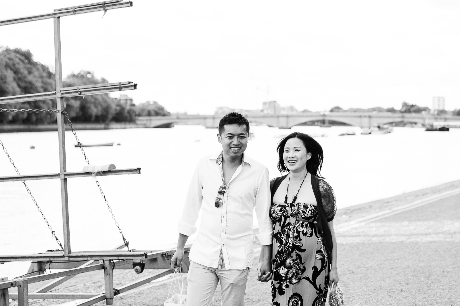 Relaxed photography style London