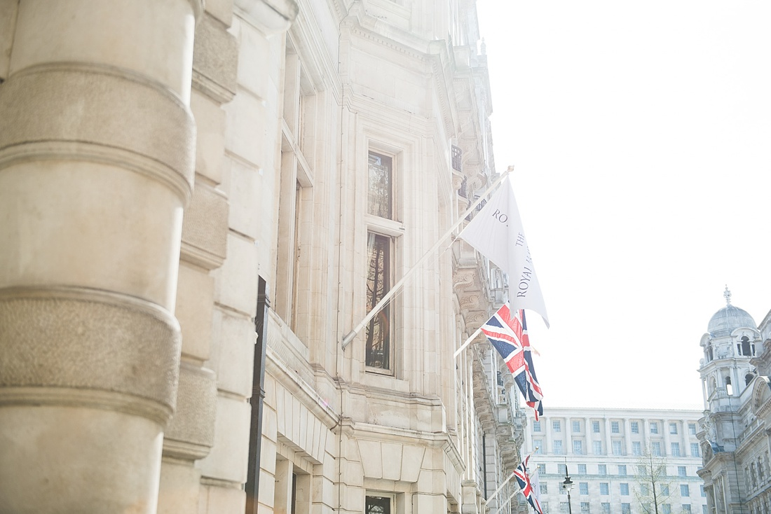 Elegant London wedding One Whitehall Place