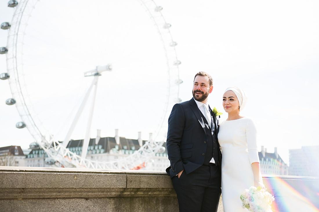 Creative spring wedding photography London