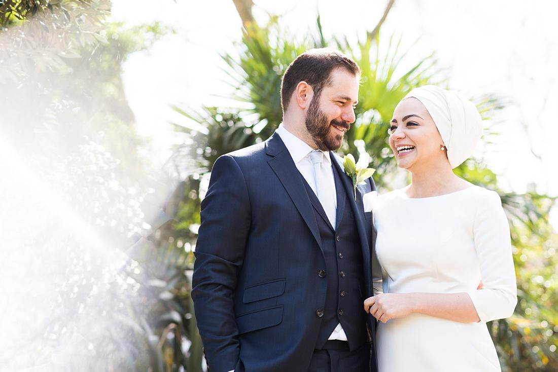 Beautiful and honest imagery elegant Persian wedding ceremony London