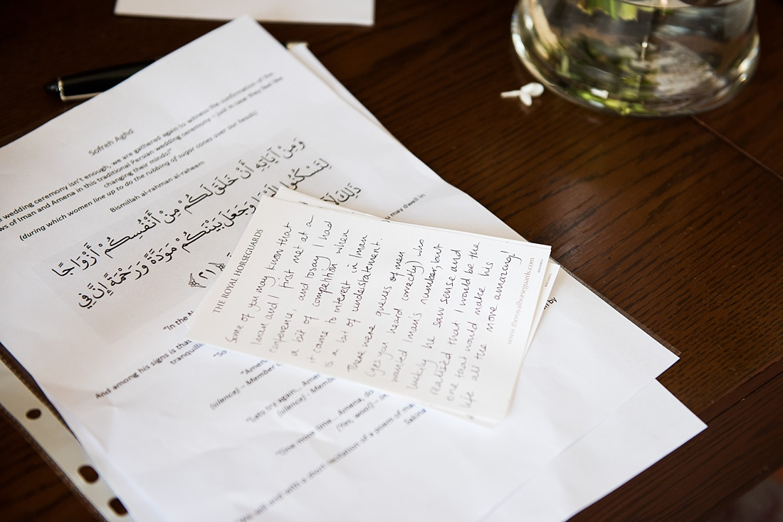 Persian wedding ceremony London