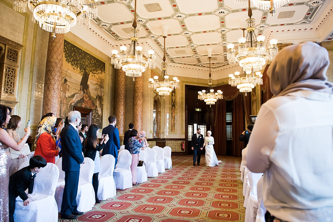 Persian wedding ceremony at One Whitehall Place London