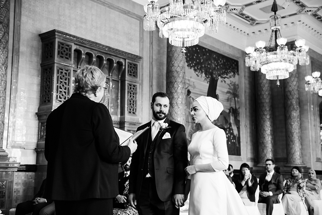 Persian wedding ceremony London One Whitehall Place London