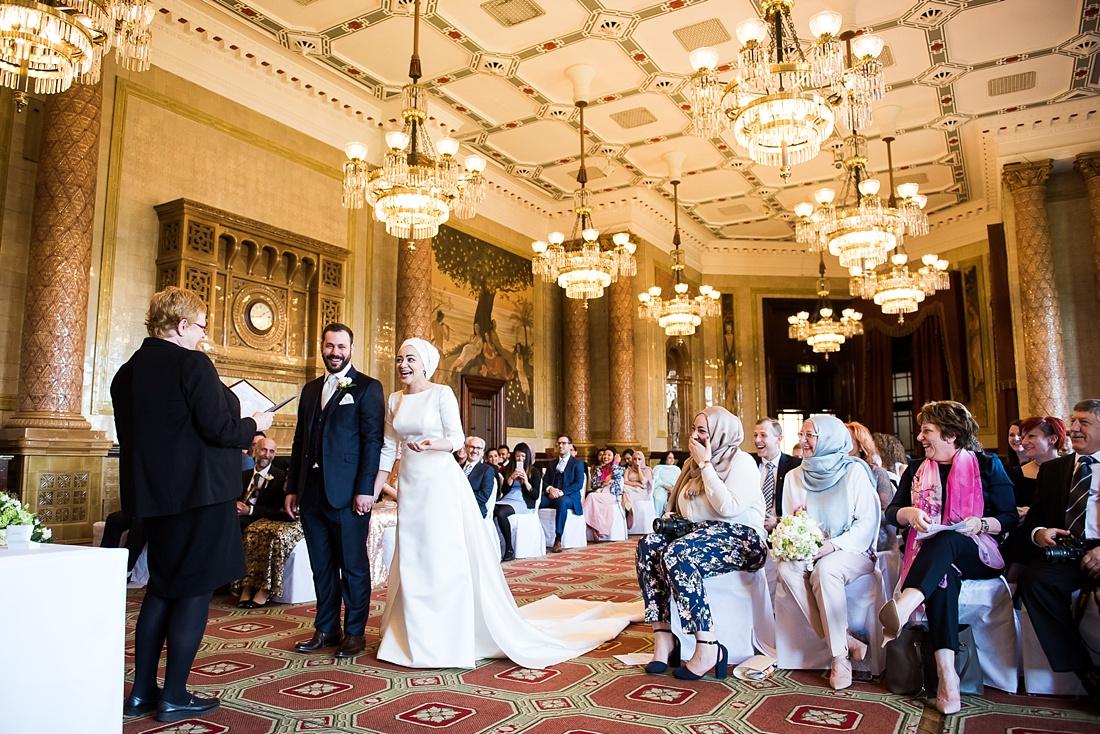 Elegant Persian wedding ceremony One Whitehall Place London