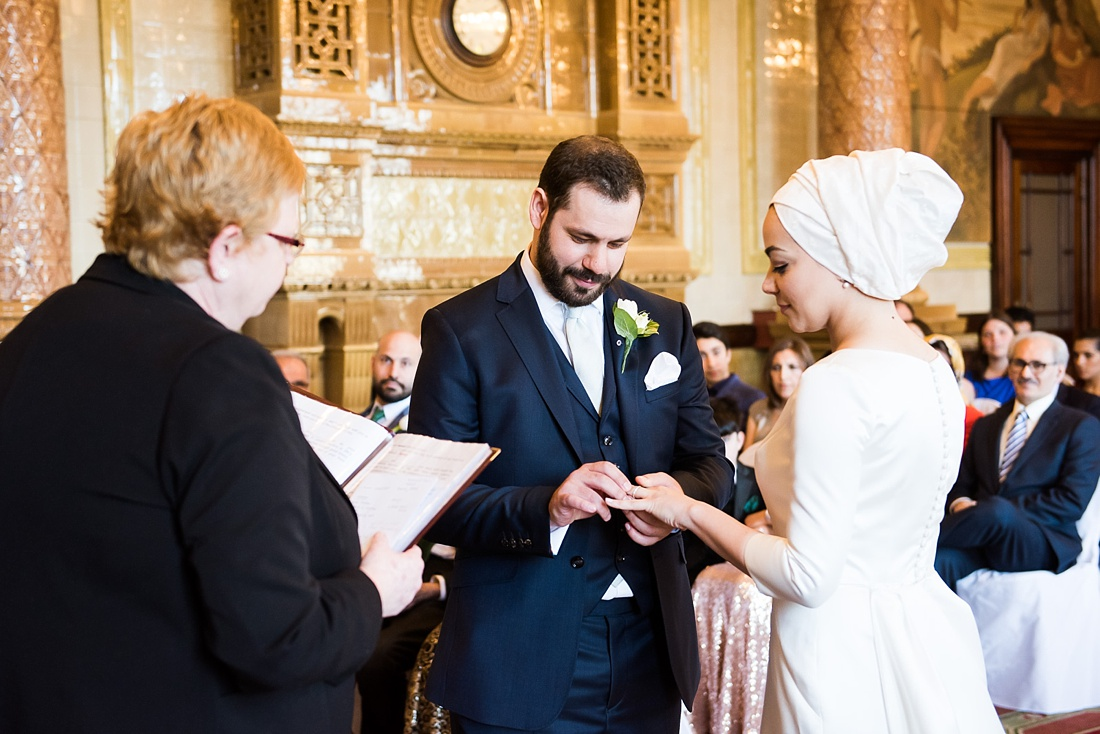 Persian wedding ceremony One Whitehall Place London