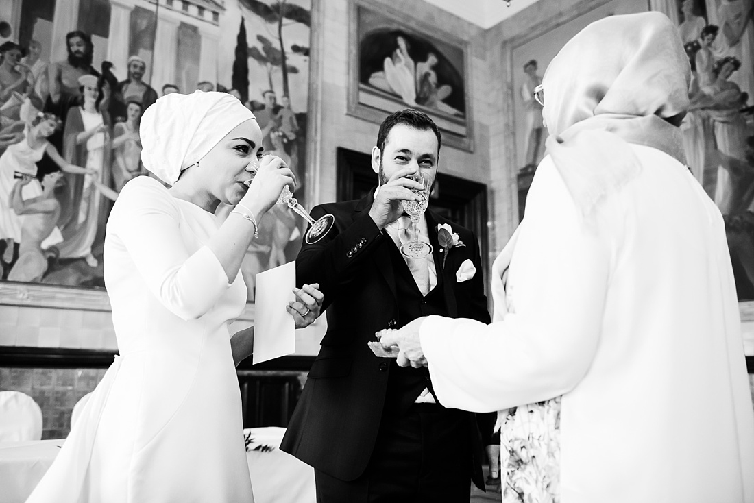 Persian wedding ceremony One Whitehal Place London
