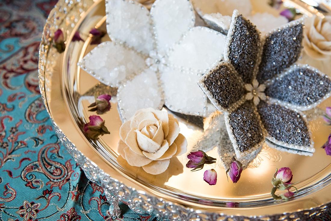 Beautiful Persian wedding decor London