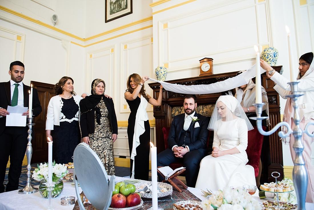 Elegant Persian wedding ceremony London