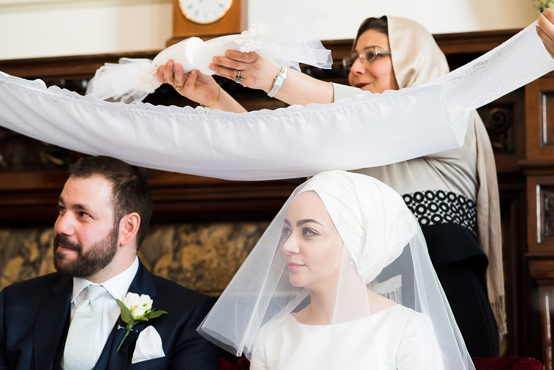 Persian wedding ceremony ritual London