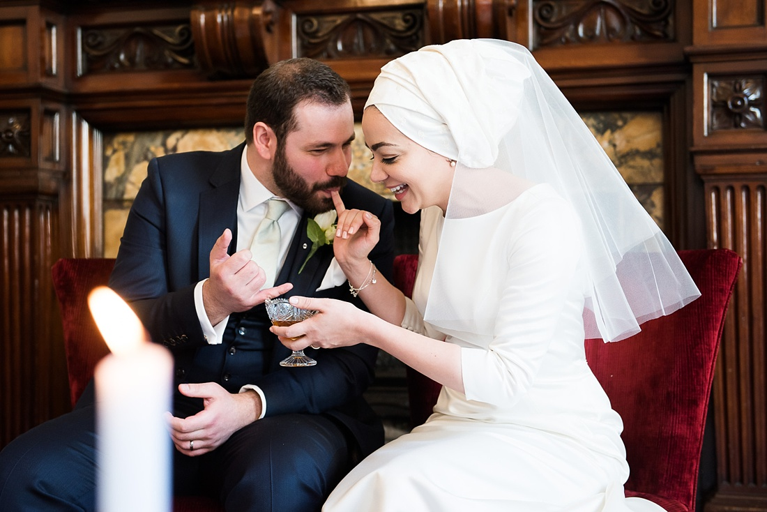 Persian wedding ceremony ritual One Whitehall Place London