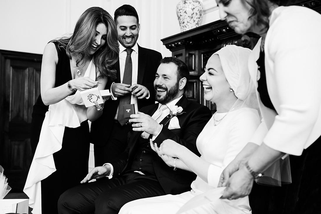 Fun lively Persian wedding London