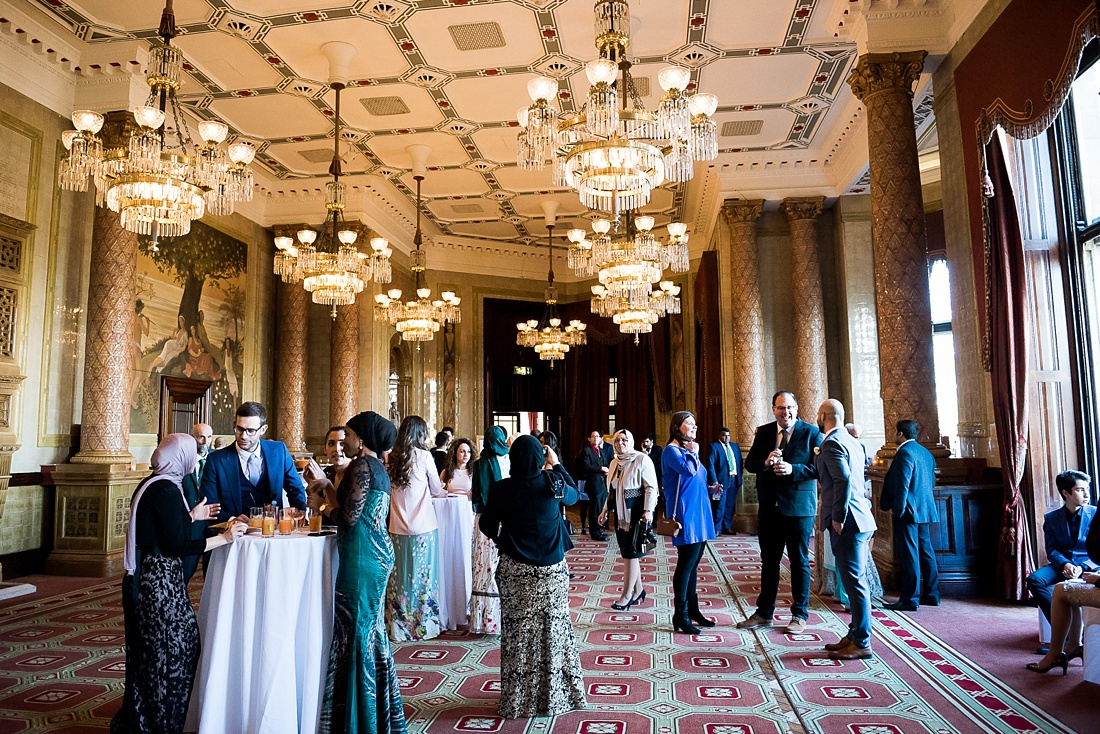 One Whitehall Place London elegant wedding ceremony