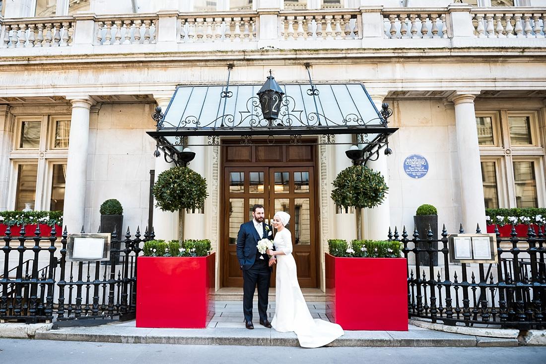One Whitehall Place wedding London