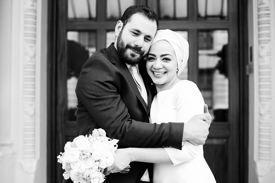 Persian wedding portrait London